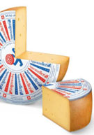 From Switzerland, its rind marinated in a secret brew: Appenzeller