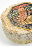 "Tomme Crayeuse, a soft, ""chalky"" cheese from Rhône-Alpes, France"