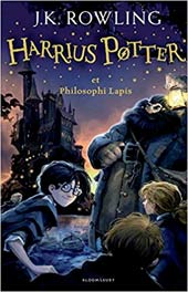 Harry Potter and the Philosopher's Stone (Latin Edition)