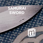 Slice from a 14th century Samurai sword