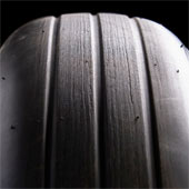 Own a fragment of a space shuttle tire
