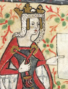 15th Century Rendering Of Queen Matilda, Whose Résumé Also Includes Holy Roman Empress As She Was Henry V Of Germany's widow