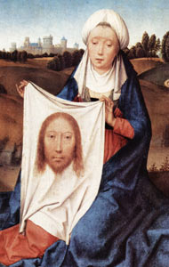 St Veronica by Hans Memling (1430-1494)