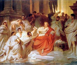 The Murder Of Caesar By Karl Theodor Von Piloty (1826 1886)
