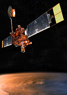 Artist's conception of Mars Global Surveyor<br>NASA/JPL-Caltech