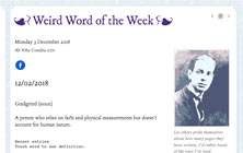 Weird word of the week: Saponifiable