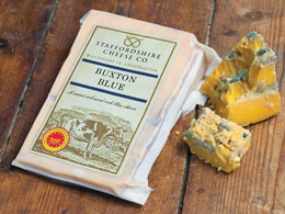 Buxton Blue: gone, now resurrected © Staffordshire Cheese Co.