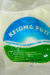 From water buffalo milk: Kesong Puti from the Philippines  ☆ Ramon FVelasquez [CC]