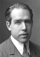 Physicist Niels Bohr (1885-1962) after whom element 107 was named