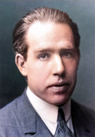 Physicist Niels Bohr (1885-1962), after whom element 107 was named
