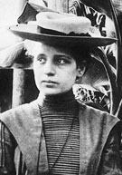 Physicist Lise Meitner (1878-1968) after whom element 109 was named