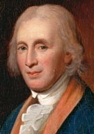 First director of the US Mint, astronomer and inventor David Rittenhouse (1732-1796)