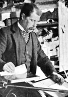 English lexicographer Edward Dwelly (1864-1939)