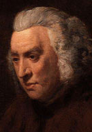 Lexicographer, dictionary pioneer Samuel Johnson (1709-1784)